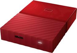 "Externí HDD 6,35 cm (2,5"") Western Digital My Passport™, 4 TB, USB 3.0, červená"