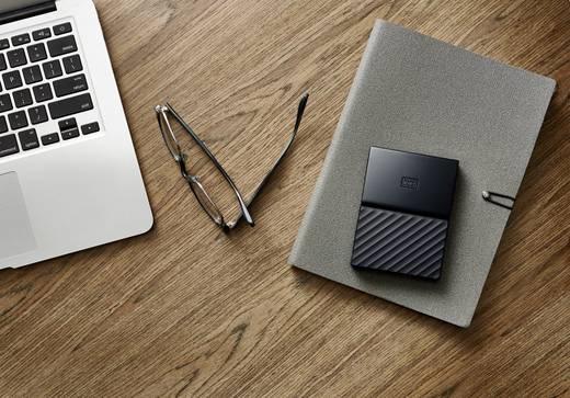 Western Digital My Passport™ for Mac Externe Apple Mac Festplatte 6.35 cm (2.5 Zoll) 4 TB Schwarz USB 3.0