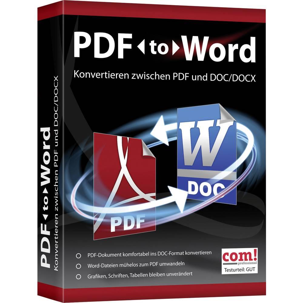 logiciel pour pdf en word