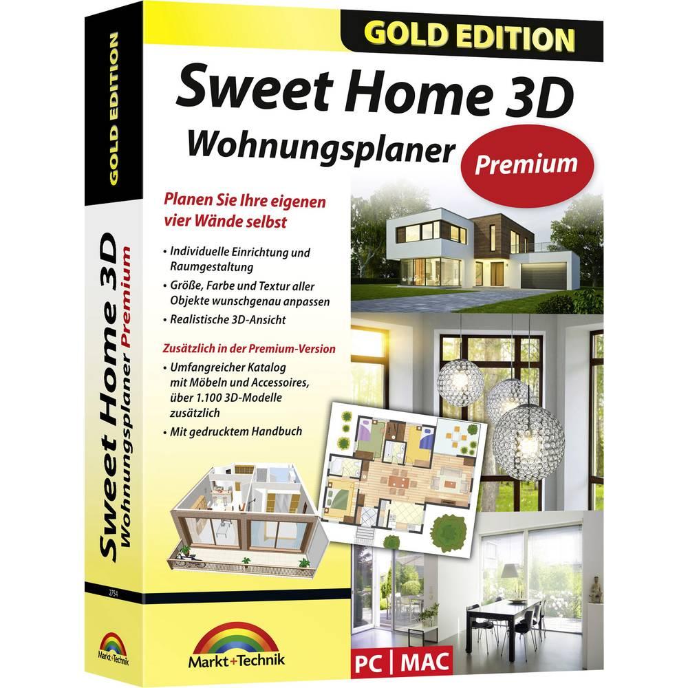 Markt Technik Sweethome 3d Premium Edition Vollversion 1 Lizenz