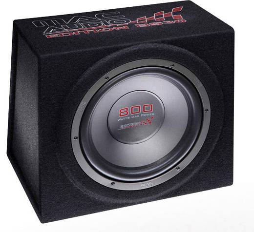 auto subwoofer passiv 800 w mac audio edition bs 30 black. Black Bedroom Furniture Sets. Home Design Ideas