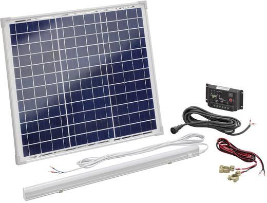 Solar-Set Esotec 120006 30 Wp Inkl. Laderegler, Mit LED
