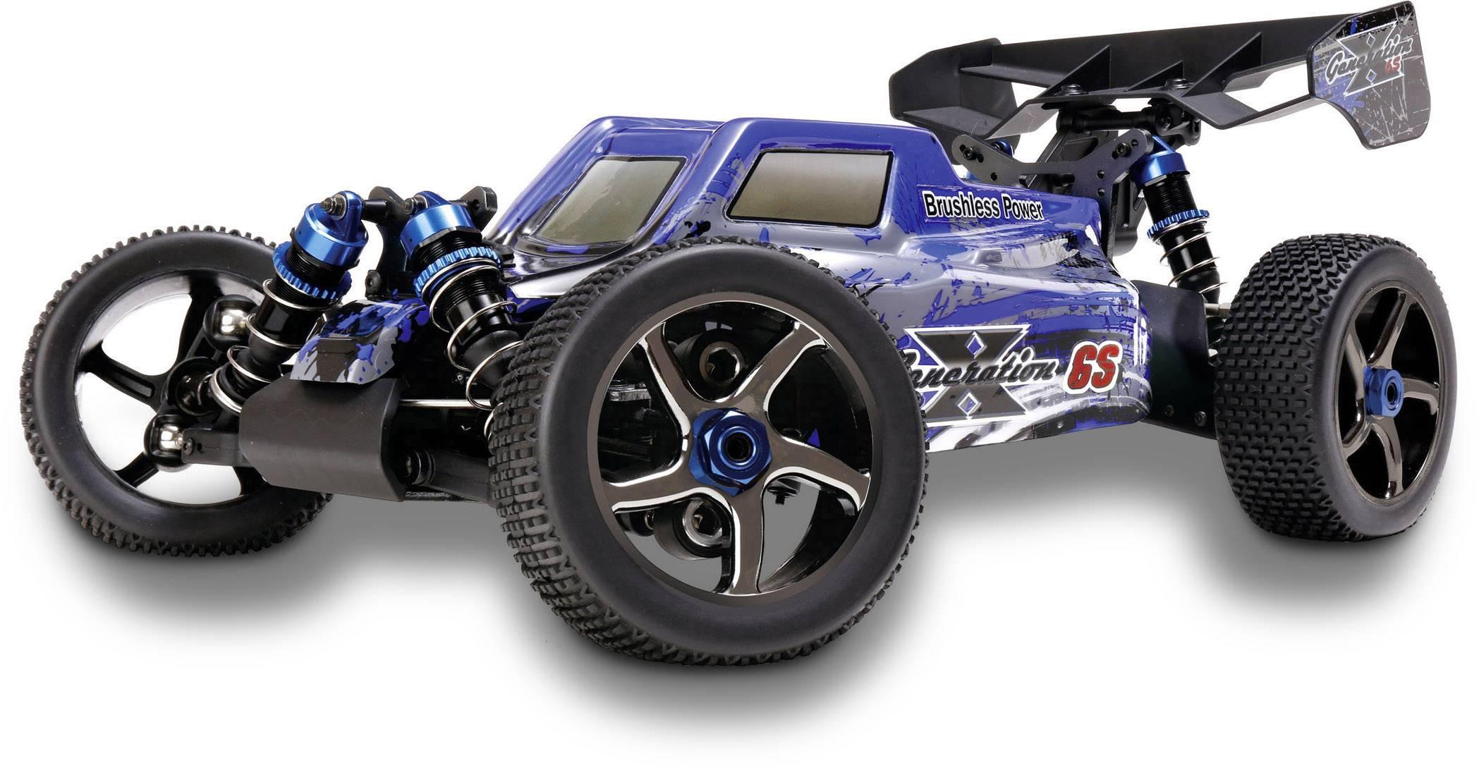 Reely Bulldog 2S Brushless 1:10 RC Modellauto Elektro Buggy Allradantrieb RtR 2,