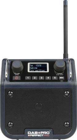 DAB+, FM outdoorové rádio PerfectPro, tmavě modrá