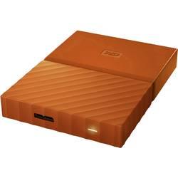 """Externí HDD 6,35 cm (2,5"""") WD My Passport, 1 TB, USB 3.0, oranžová"""