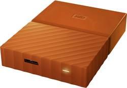"Externí HDD 6,35 cm (2,5"") Western Digital My Passport, 4 TB, USB 3.0, oranžová"