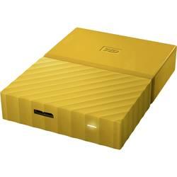 """Externý pevný disk 6,35 cm (2,5"""") WD My Passport, 4 TB, USB 3.0, žltá"""