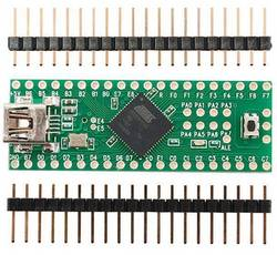 Image of Entwicklungsboard Teensy++ (AT90USB1286 USB dev board) + header - AT90USB1286 Adafruit 731