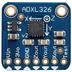 Image of Erweiterungsboard ADXL326 - 5V ready triple-axis accelerometer (+-16g analog out) Adafruit 1018