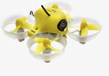 Typical entry-level drone with camera