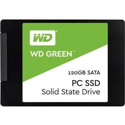 "Interný SSD pevný disk 6,35 cm (2,5 "") WD Green™ WDS120G2G0A, 120 GB, Retail, SATA 6 Gb / s"