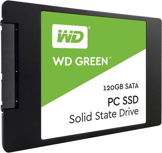 Interne SSD 6.35 cm (2.5 Zoll) 120 GB Western Digital Green™ Retail WDS240G2G0A SATA III