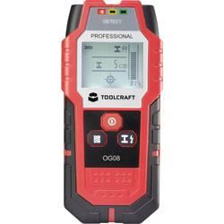 Detektor neželezných kovov, železných kovov, dreva TOOLCRAFT OG 08 ATT.NUM.LOCATING_DEPTH_MAX 80 mm 1517080