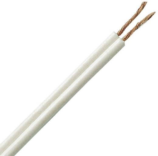 Litze A03VH-H 2 x 0.75 mm² Weiß Kopp 151325007 25 m