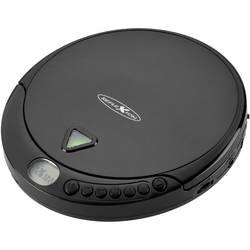 Prenosný CD prehrávač - diskman s FM rádiom Reflexion PCD510MF, CD, CD-R, CD-RW, MP3, čierna