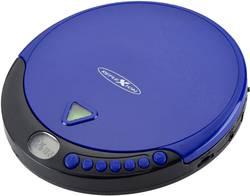 Přenosný CD přehrávač Discman s FM rádiem Reflexion PCD510MF, CD, CD-R, CD-RW, MP3, modrá
