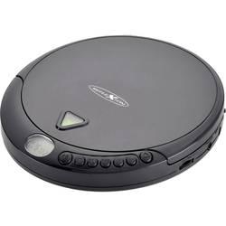 Prenosný CD prehrávač - diskman Reflexion PCD500MP, CD, CD-R, CD-RW, MP3, čierna