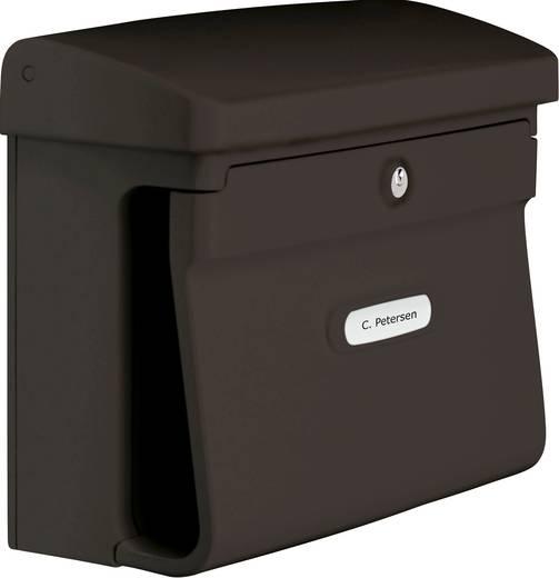 briefkasten burg w chter 12570 bremen 885 br kunststoff braun schl sselschloss kaufen. Black Bedroom Furniture Sets. Home Design Ideas