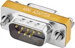 Sériový adaptér Renkforce Null Modem [1x D-SUB zásuvka 9-pólová - 1x D-SUB zástrčka 8-pólová], oranžová