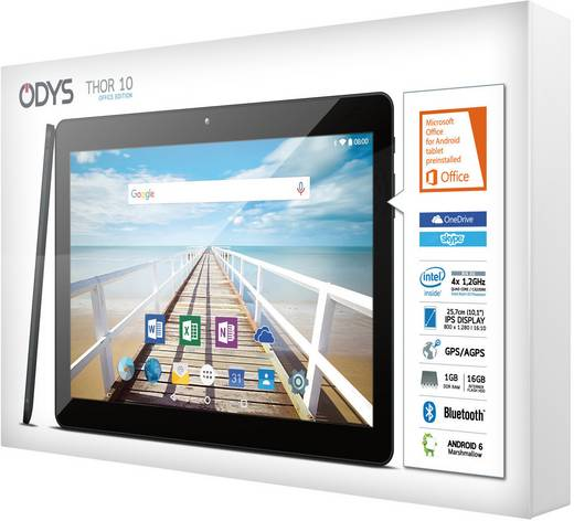 odys thor 10 android tablet 25 7 cm 10 1 zoll 16 gb wi. Black Bedroom Furniture Sets. Home Design Ideas