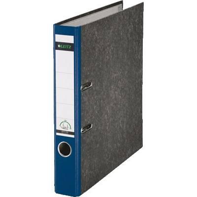Leitz Ordner 1050 DIN A4 Rückenbreite: 52 mm Blau Wolkenmarmor 2 Bügel 10505035 Preisvergleich