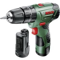 Aku príklepová vŕtačka Bosch Home and Garden EasyImpact 12 060398390E, 12 V, 2.5 Ah, Li-Ion akumulátor