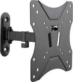Support mural TV LogiLink BP0007 inclinable + pivotable noir