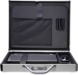 """Bezpečnostní kufřík na notebooky Renkforce JJV-2004S s max.velikostí: 43,9 cm (17,3"""") , hliník"""