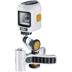 Krížový laser samonivelačná Laserliner SmartCross-Laser Set, Dosah (max.): 8 m, Kalibrované podľa: bez certifikátu