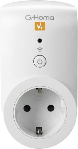 Chytrá spínací a měřicí zásuvka ovládaná smartphonem G-Homa Energy Control 7780, s Wi-Fi