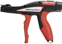 Kliešte na sťahovaice pásky HellermannTyton EVO9S 110-80003 červenočierna