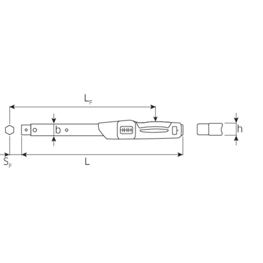 cl dynamom trique pour embouts interchangeables stahlwille 50181080 sortie carr femelle 22 x. Black Bedroom Furniture Sets. Home Design Ideas