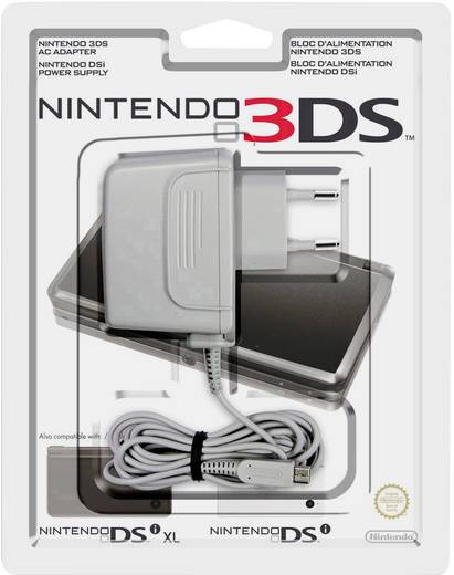 netzteil nintendo 3ds nintendo 3ds xl nintendo new 3ds. Black Bedroom Furniture Sets. Home Design Ideas