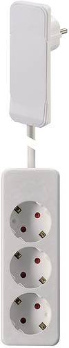 NVB 104566 Steckdosenleiste ohne Schalter Weiß ...