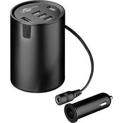 USB nabíječka Goobay 58846, černá