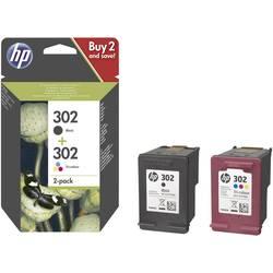 Sada náplní do tlačiarne HP 302 X4D37AE, čierna, zelenomodrá, purpurová, žltá