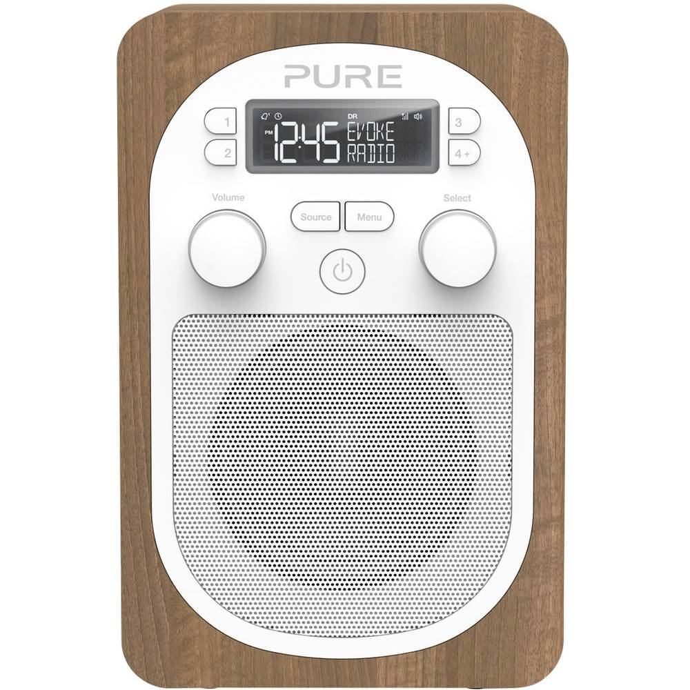 Radio de bureau radio de cuisine dab pure evoke h2 dab for Radio de cuisine