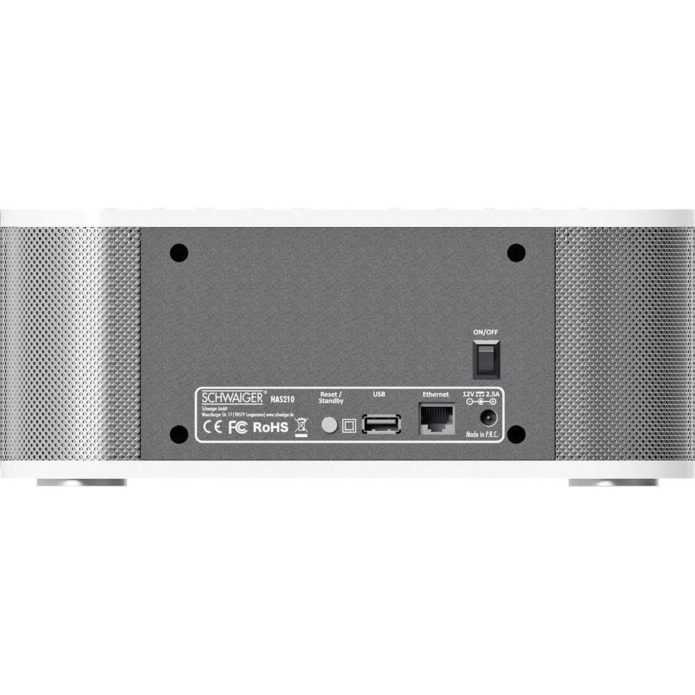 schwaiger has210 wi fi speaker from. Black Bedroom Furniture Sets. Home Design Ideas