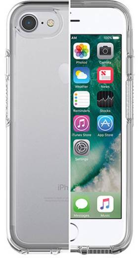 iphone backcover otterbox symmetry clear passend f r apple iphone 7 transparent kaufen. Black Bedroom Furniture Sets. Home Design Ideas