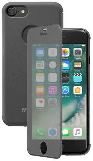 iphone flip case cellularline book touch passend f r apple iphone 7 schwarz transparent kaufen. Black Bedroom Furniture Sets. Home Design Ideas