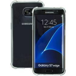 Perlecom zadní kryt na mobil Galaxy S7 Edge transparentní
