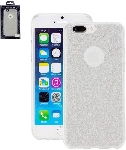perlecom iphone backcover passend f r apple iphone 7 plus silber kaufen. Black Bedroom Furniture Sets. Home Design Ideas