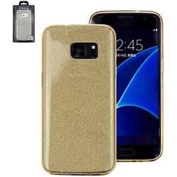 Perlecom zadní kryt na mobil Galaxy S7 zlatá