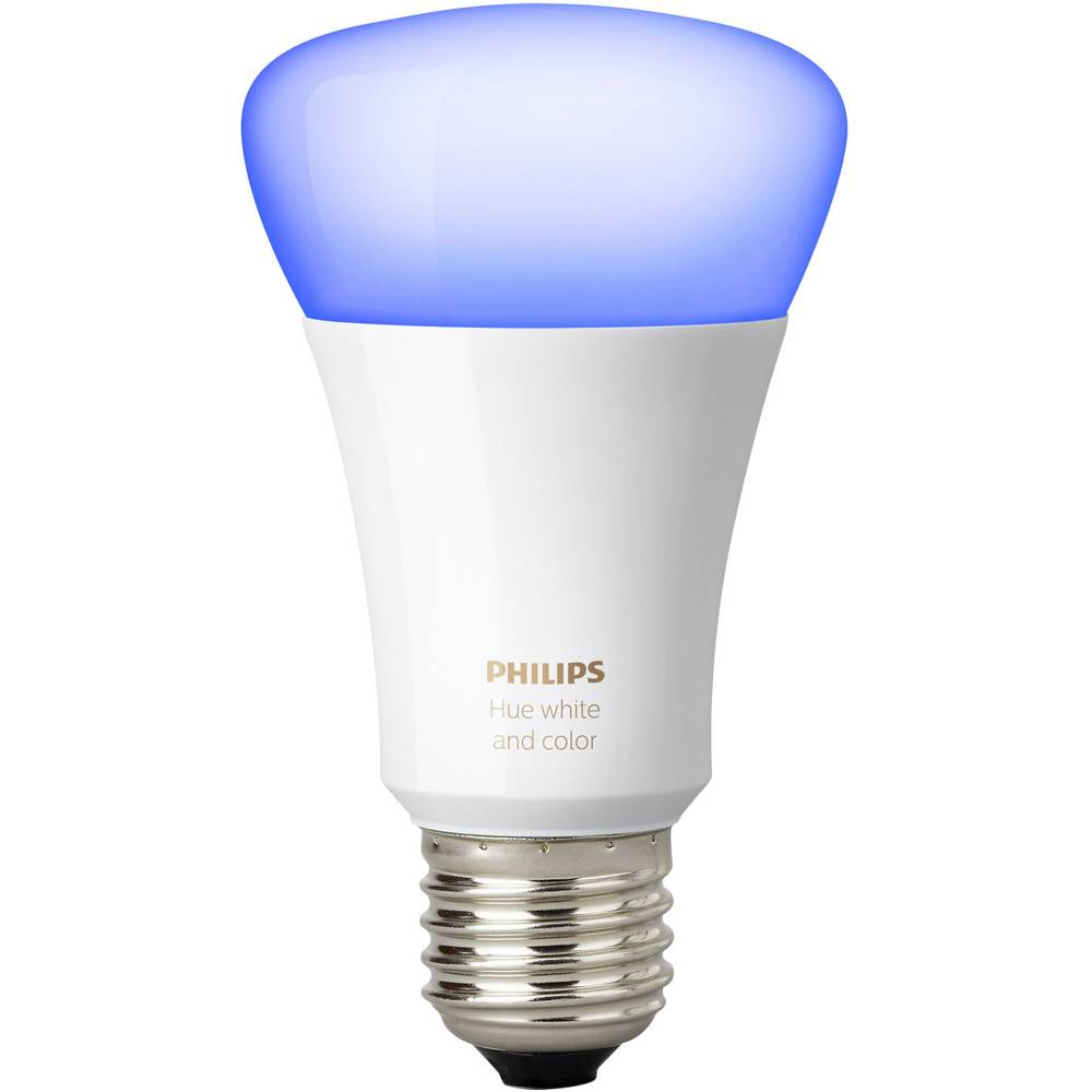 Lampadina led singola philips lighting hue white and for Lampadina e27
