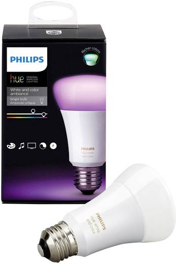 philips lighting hue led leuchtmittel einzeln white and color ambiance e27 10 w rgbw kaufen. Black Bedroom Furniture Sets. Home Design Ideas