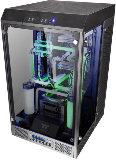 Full Tower PC-Gehäuse Thermaltake The Tower 900 Schwarz 2 ...