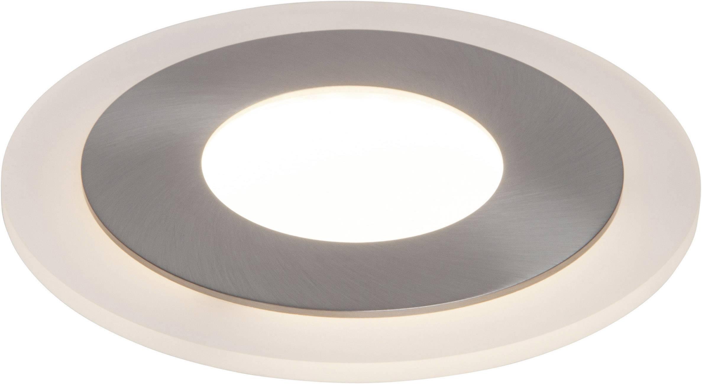 AEG Orbita Deco AEG191148 LED Einbauleuchte 5 W Warm Weiß Nickel (gebürstet)
