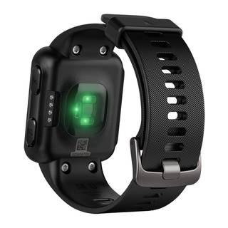 Grünes LED-Licht wird von der Garmin Forerunner 35 abgegeben
