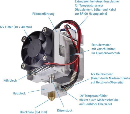 Extruder Passend für: renkforce RF100
