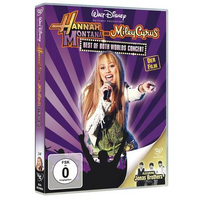 DVD Hannah Montana/Miley Cyrus: Best of Both Worlds Concert FSK: 0 Preisvergleich